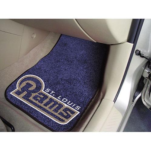 St. Louis Rams Floor Mats (2)