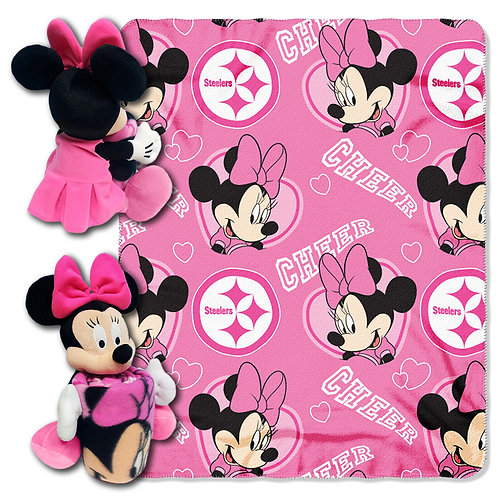 Pittsburgh Steelers Minnie mouse Throw Combo