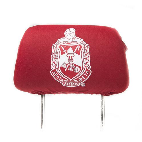 Delta Sigma Theta Headrest Cover
