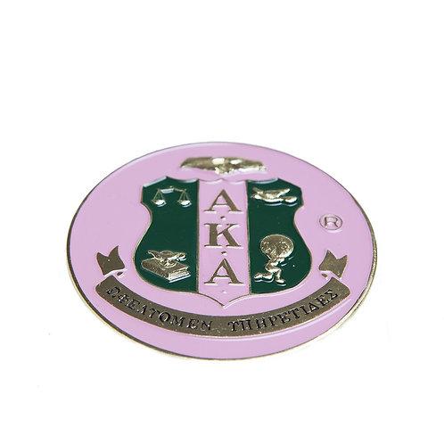 AKA Round Car Badge