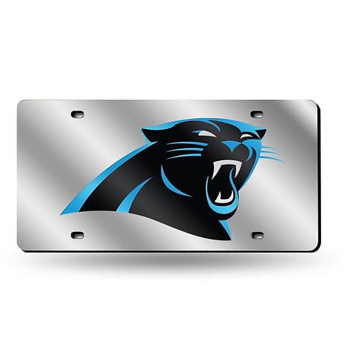 Carolina Panthers Laser Cut License Plate Tag