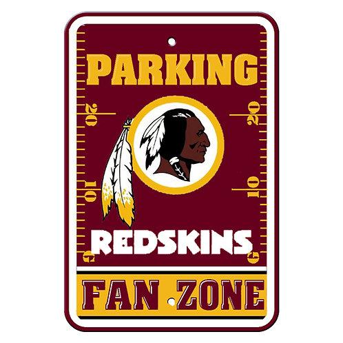Washington Redskins NFL Plastic Parking Sign