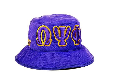 Omega Psi Phi 3 Letter Bucket Hat