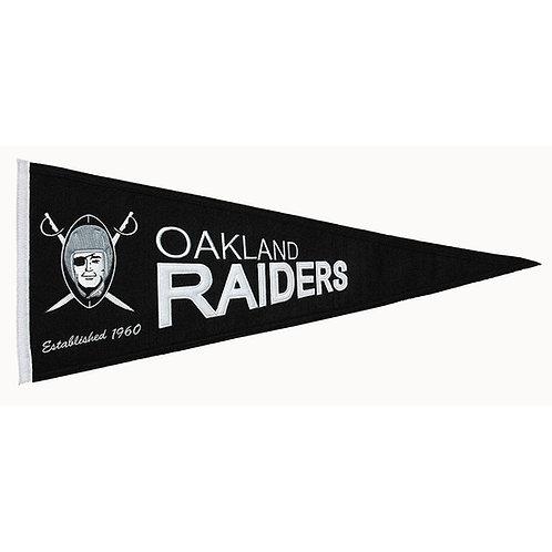 Oakland Raiders Throwback Pennant (13x32)