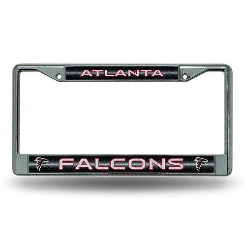 Atlanta Falcons Bling Glitter License Plate Frame