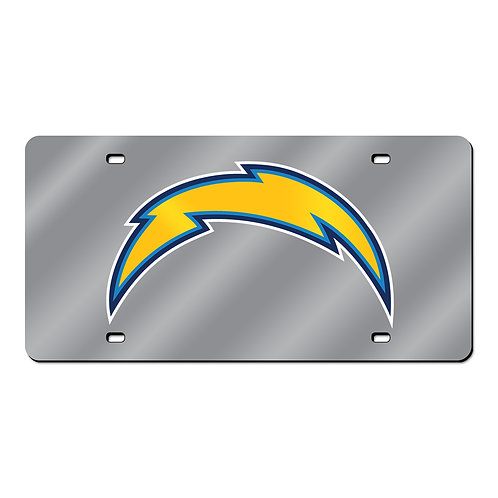 San Diego Chargers Laser Cut License Plate Tag