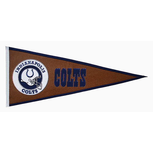 Indianapolis Colts Pigskin Traditions Pennant