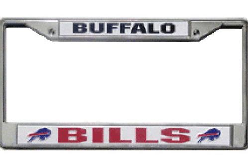 Buffalo Bills Chrome License Plate Cover