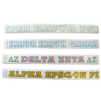 "Delta Sigma Theta 18"" Window Decal"