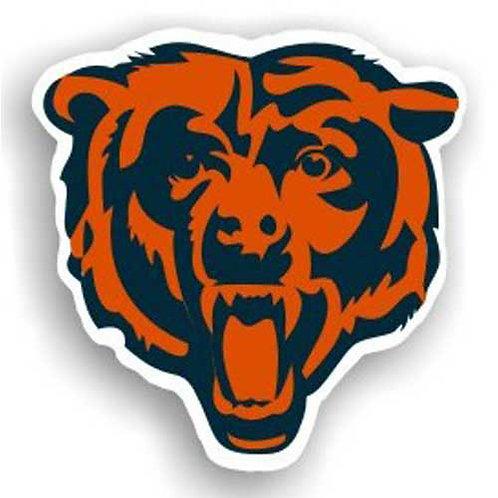 Chicago Bears NFL 12 Inch Car Magnet
