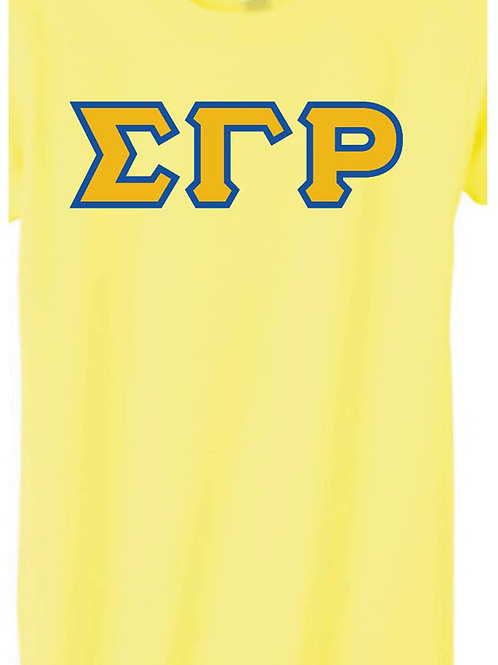 Gold SGRho Short Sleeve Tee