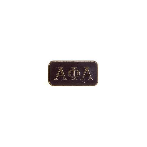 Alpha Phi Alpha 3 Letter Lapel Pin