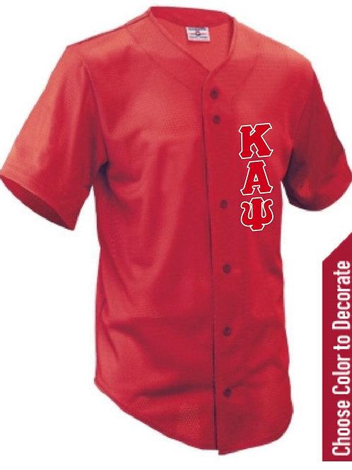 Kappa Alpha Psi Baseball Jersey