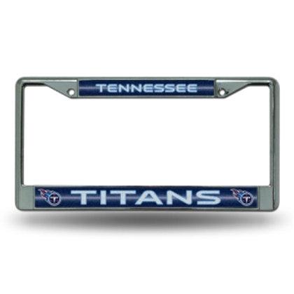 Titans Bling Glitter License Plate Frame