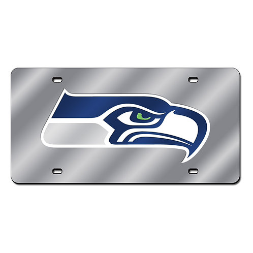 Seattle Seahawks Laser Cut License Plate Tag