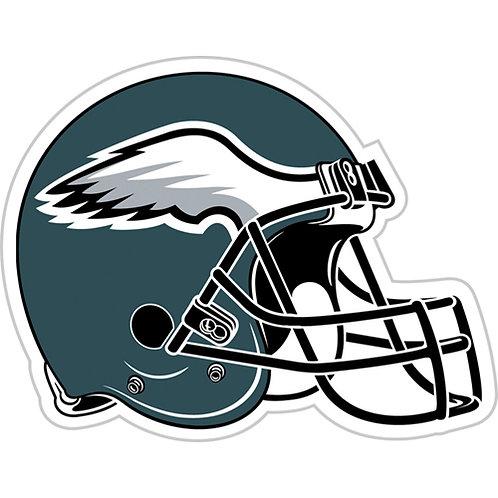 """Philadelphia Eagles 12"""" vinyl helmet magnet"""