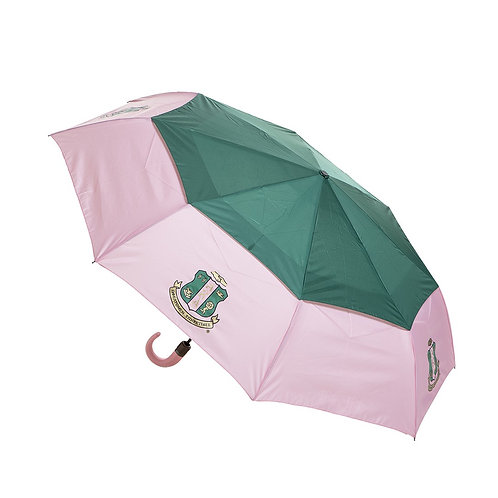 AKA Sorority Mini Auto up/down Umbrella