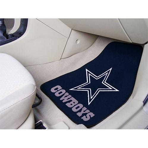 Dallas Cowboys NFL Car Floor Mat (2 Front)