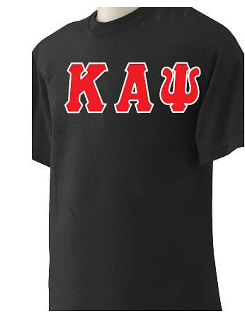 Black Kappa Short Sleeve Tee