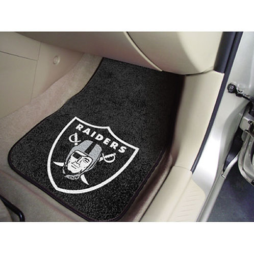 Oakland Raiders Floor Mats (2)
