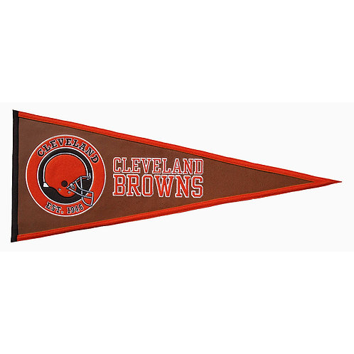 Cleveland Browns Pigskin Traditions Pennant (13x32