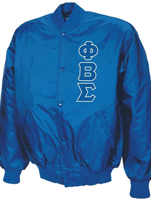 Phi Beta Sigma Baseball Jacket