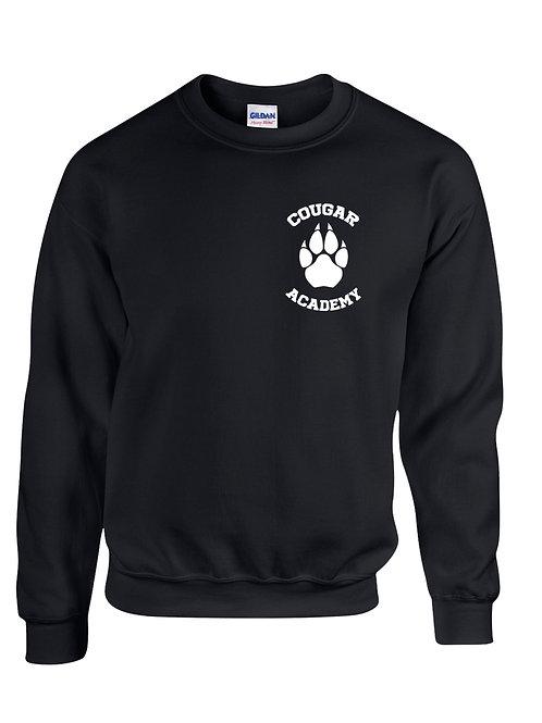 Cougar Academy Crewneck Fleece (Left Chest Image)