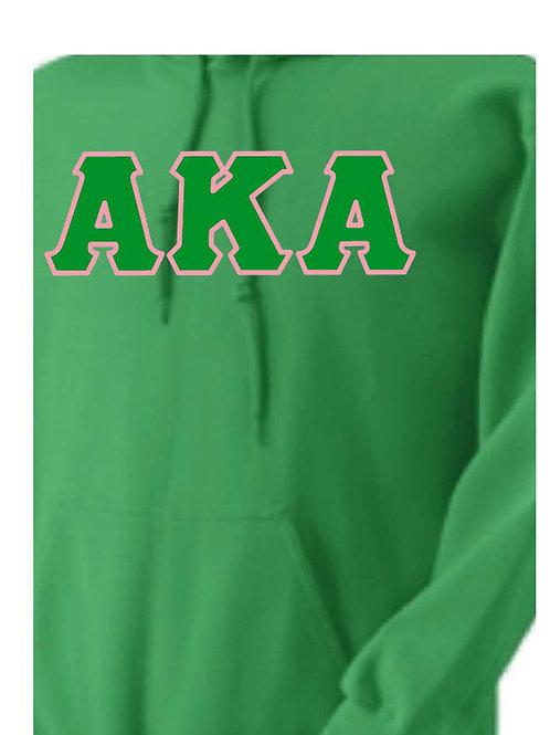 Green AKA Fleece Hoody