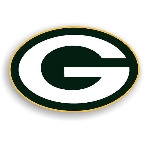 "Green Bay Packers 12"" vinyl logo magnet"