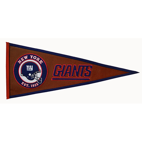 New York Giants Pigskin Traditions Pennant (13x32)