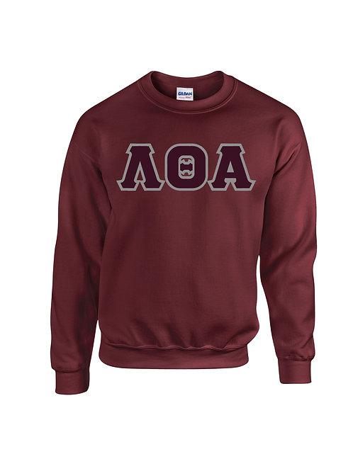 Lambda Theta Alpha Fleece Crewneck Sweatshirt