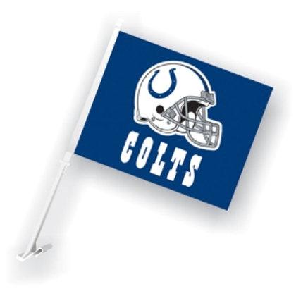 Indianapolis Colts Car Flag