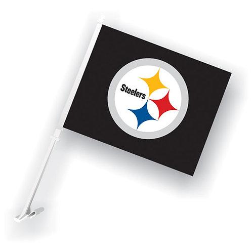 Pittsburgh Steelers Car Flag