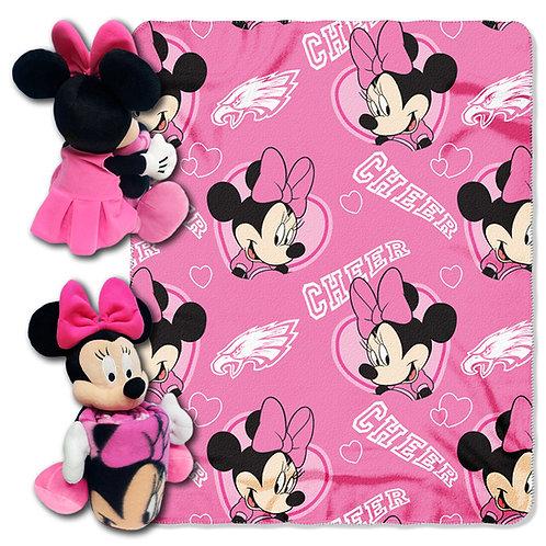 Philadelphia Eagles Minnie Mouse Throw Combo