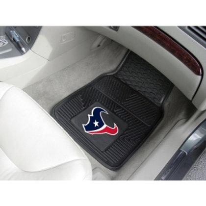Houston Texans Rubber Floor Mats (2)