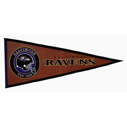 Ravens Pigskin Traditions Pennant (13x32)