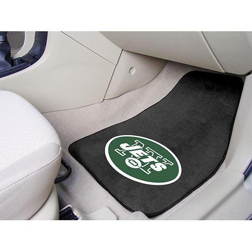 New York Jets NFL Car Floor Mats (2 Front)