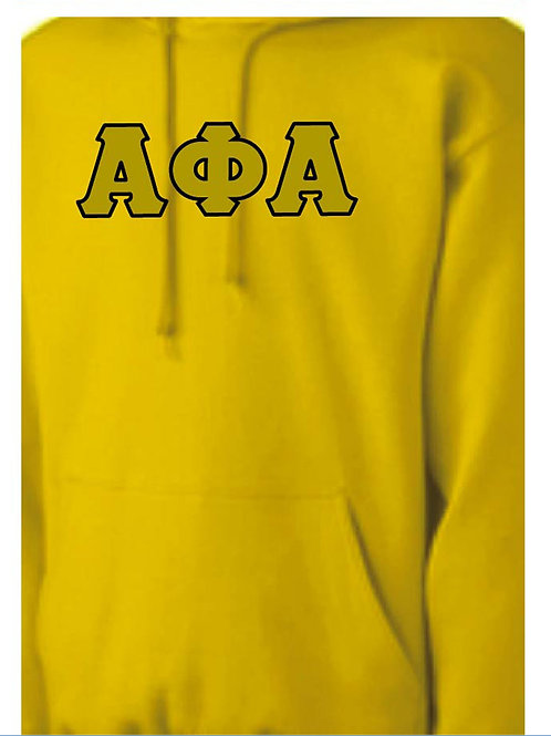 Alpha Phi Alpha Gold Fleece Hoody