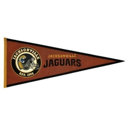 Jaguars Pigskin Traditions Pennant (13x32)