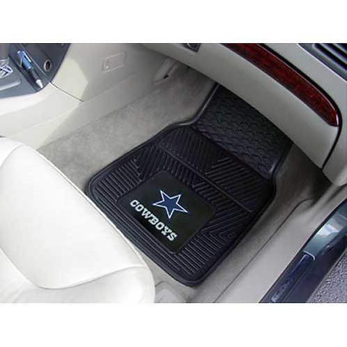 Dallas Cowboys NFL Vinyl Car Floor Mats (2)