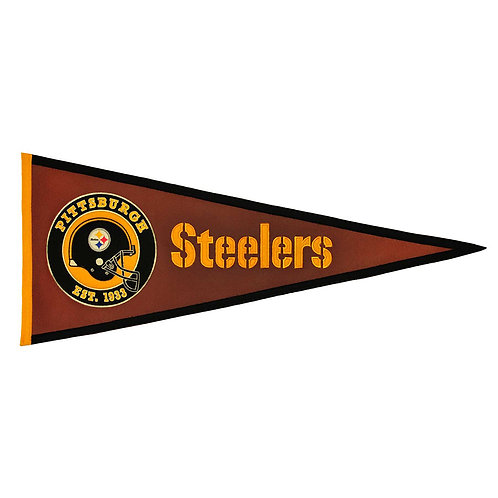 Steelers Pigskin Traditions Pennant (13x32)