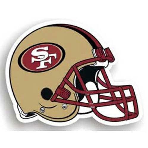 San Francisco 49ers NFL 12 Inch Car Magnet