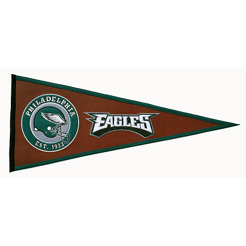 Eagles Pigskin Traditions Pennant (13x32)