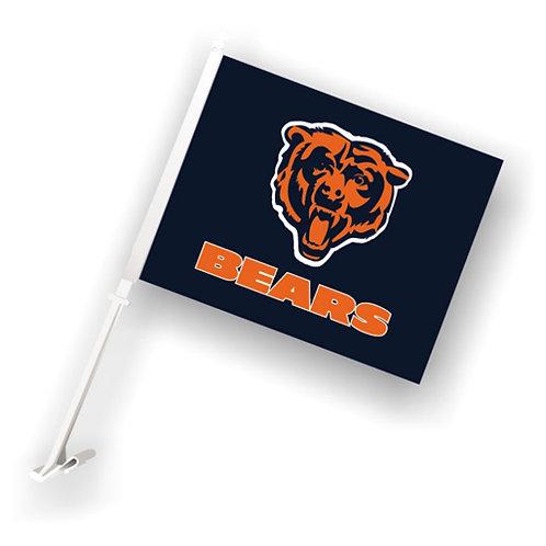 Chicago Bears Car Flag