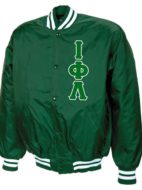 Iota Phi Lambda Baseball Jacket
