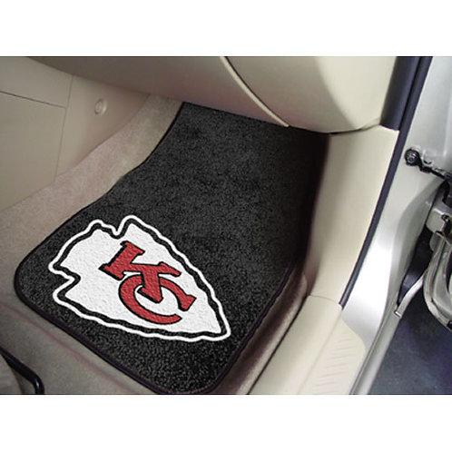 Kansas City Chiefs NFL Car Floor Mats (2 Front)
