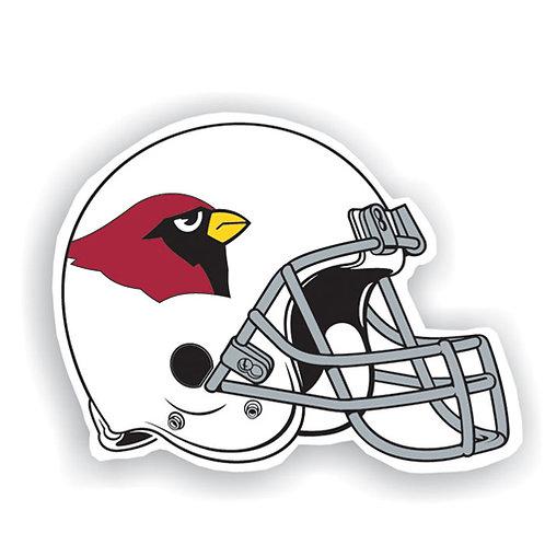 "Arizona Cardinals 12"" vinyl helmet magnet"