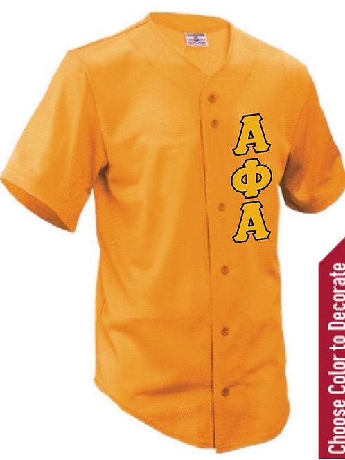 Alpha Phi Alpha Baseball Jersey
