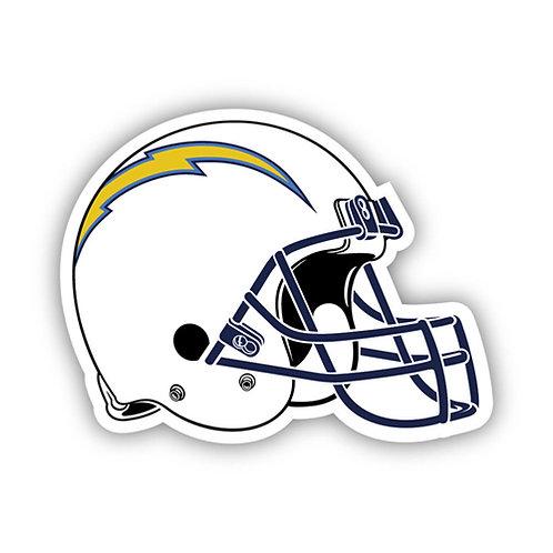 """San Diego Chargers 12"""" vinyl helmet magnet"""