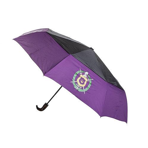 "Omega Psi Phi 28"" Automatic up/down Umbrella"